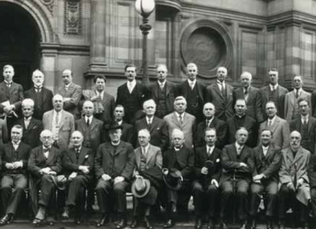 1931 Universities of the British Empire Congress, in Edinburgh